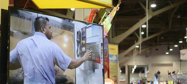 Trade show video display