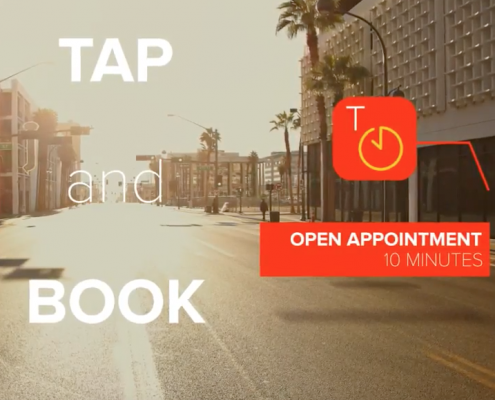 Tap To Book App Presentation video