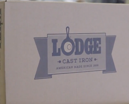 Lodge cast iron company video