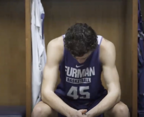 furman university athlete
