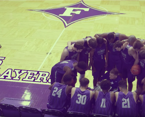 Furman Basketball Video
