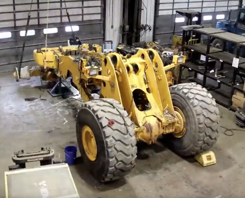 Volvo Construction Equipment Refurbishment Time Lapse video