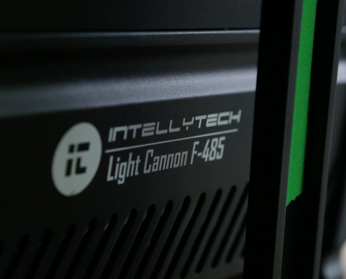 Intellytech Light Cannon F-485 Video Production